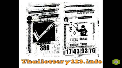 Thai Lottery Last Paper Full Magazine Tips 16 September 2018