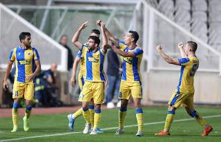 Σε εικόνες Η μεγάλη νίκη του ΑΠΟΕΛ στο ΓΣΠ, επί της Καραμπάχ με 2-1