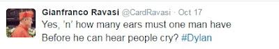 Ravasi tweet