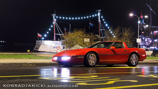 Fotografia motoryzacyjna - Trójmiasto Klasycznie Chevrolet Corvette