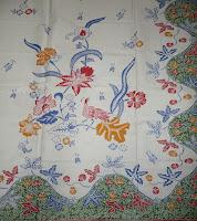 Kain Batik PutihAyu 003 Hijau