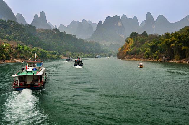Li River - Paket Tour 8H7M Guilin Sanjiang 29 Sep 2018 - Salika Travel