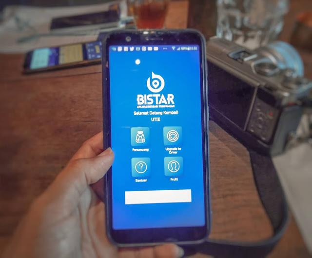 BISTAR aplikasi berbagi tumpangan