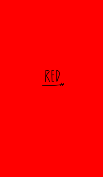 It's red simply.