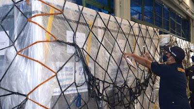 Bidik Update: 1.408.000 Vaksin Sinopharm Tiba di Indonesia