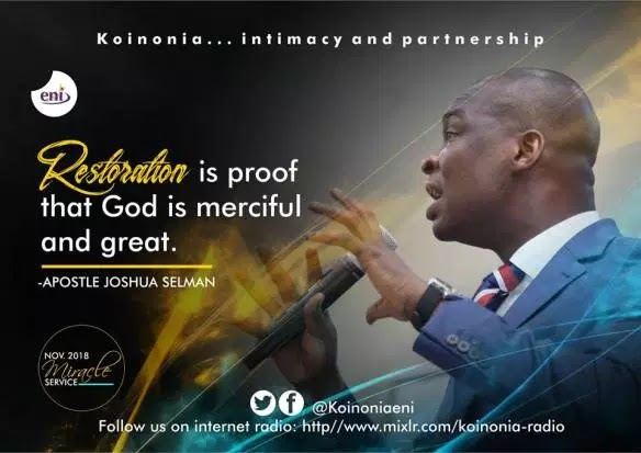 Download The Price for Extraordinary Anointing by Apostle Joshua Selman