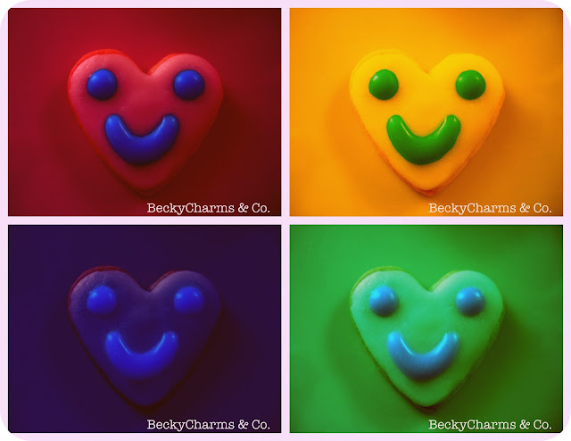 Cookies Make Me Smile Too Do You, cookies, colors, rainbow, smiles, cheer, hearts, love, valentine's day, charm, happiness, san diego, photography, photos, edit, design, creative, art, artwork, artist, beckycharms