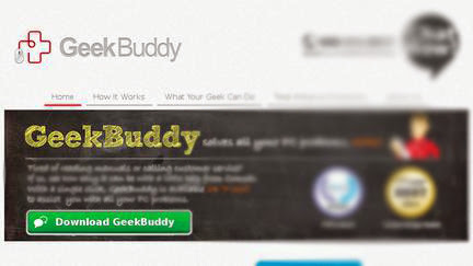 Manually Remove Ads by GeekBuddy Pop-up