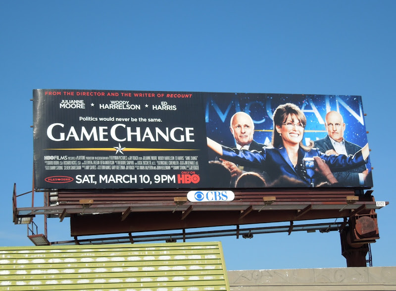 Game Change HBO movie billboard