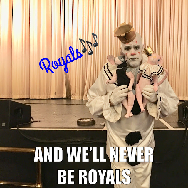 And we'll never be royals