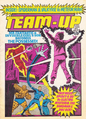 Marvel Team-Up #9, the Fantastic Four