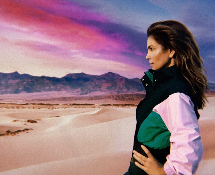 Reserved x Cindy Crawford x Dacre Montgomery SS18 campaign