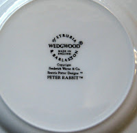 Wedgewood Beatrix Potter Peter Rabbit Plate