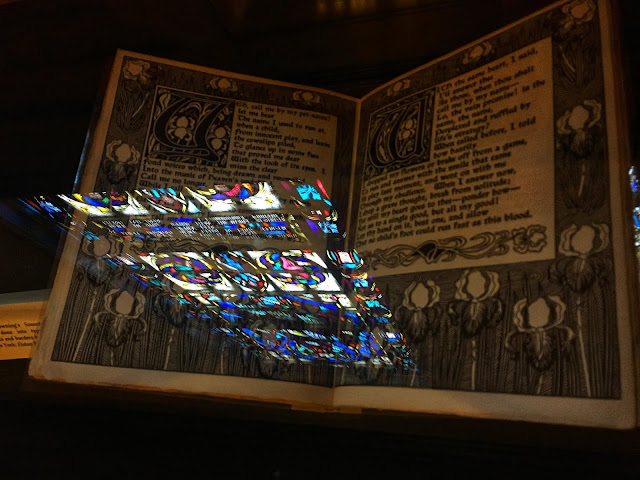 an illuminated edition of the poems of Elizabeth Barrett Browning