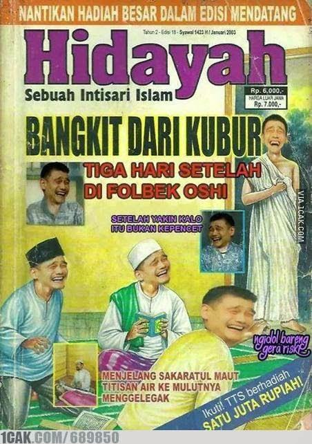 Gambar Lucu Majalah Hidayah