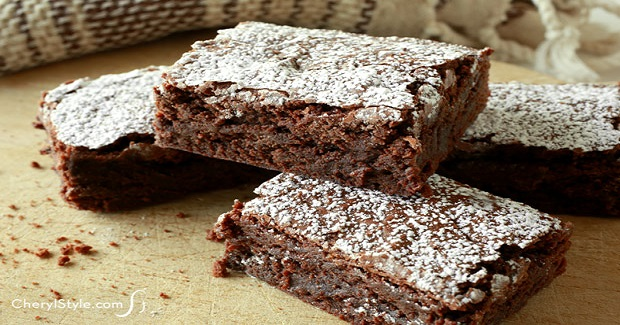 Chewy Chocolate Brownies Recipe