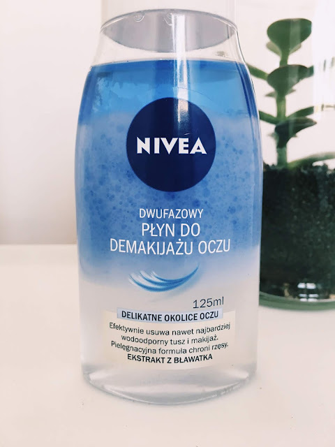 Jak usunąć makijaż, wodoodporny płyn do demakijażu nivea