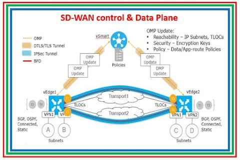 Cisco Viptela SD-WAN : vSmart as a Control Plane