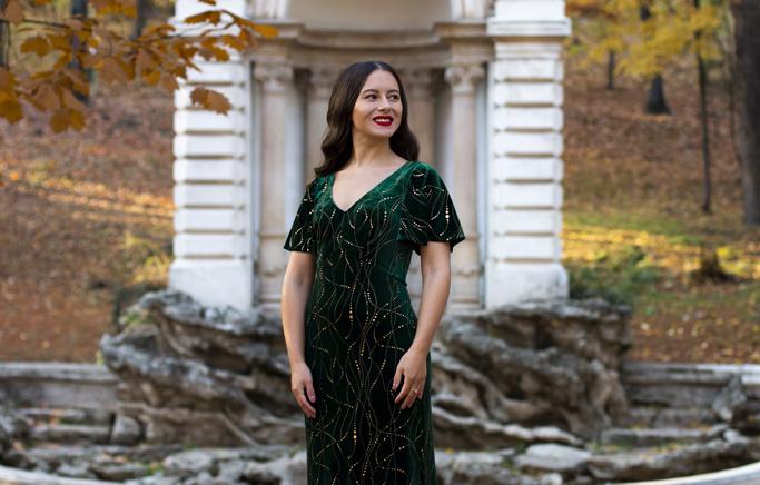adina nanes velvet long dress