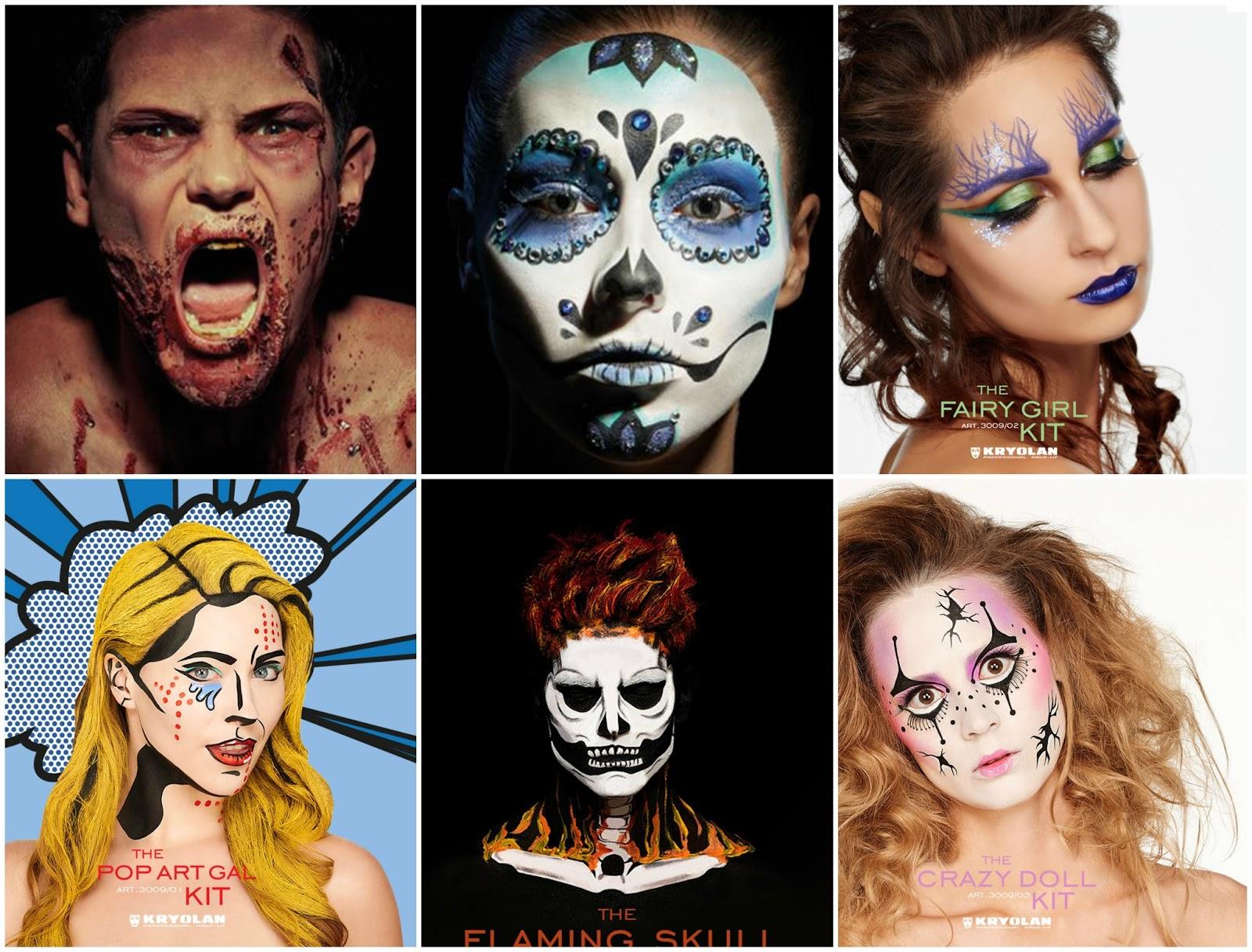 Kryolan Halloween Makeup Sets | All Your Hair Needs