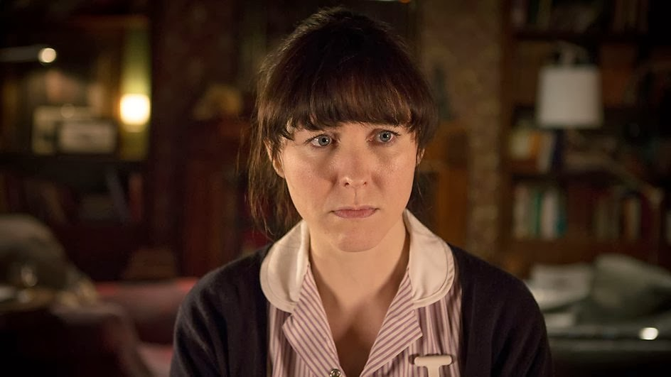 Alice Lowe as Tessa in BBC Sherlock Season 3 Episode 2 The Sign of Three