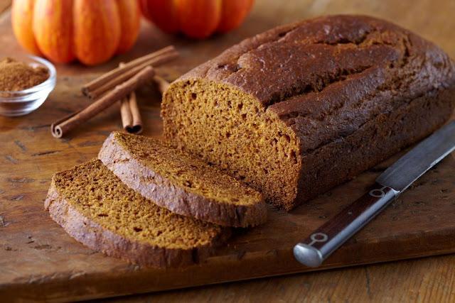 Pumpkin Recipes: Tofu Pumpkin Bread
