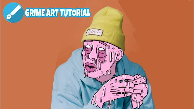 Tutorial Lengkap Edit Grime Art dengan Infinite Design di Android