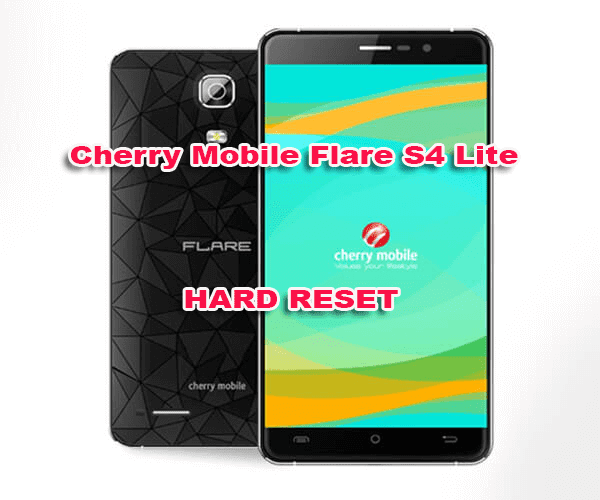 Cherry Mobile Flare s4 lite hard reset