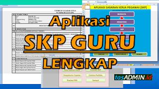 Download aplikasi SKP Guru Berbatai Versli Lengkap