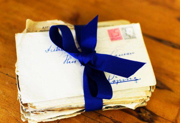 carta velha misterio