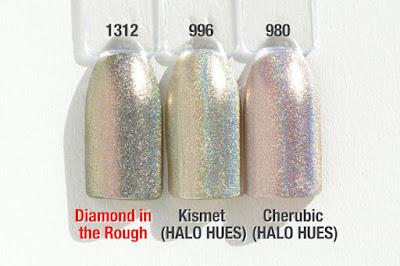 "Comparison ""HALO JEWELS"" ""HALO HUES"" Diamond in the Rough"