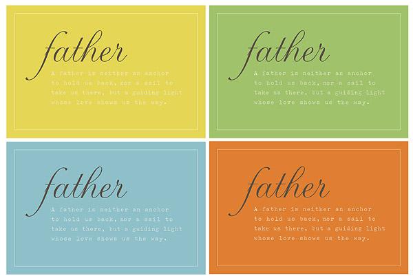Father's Day Printable