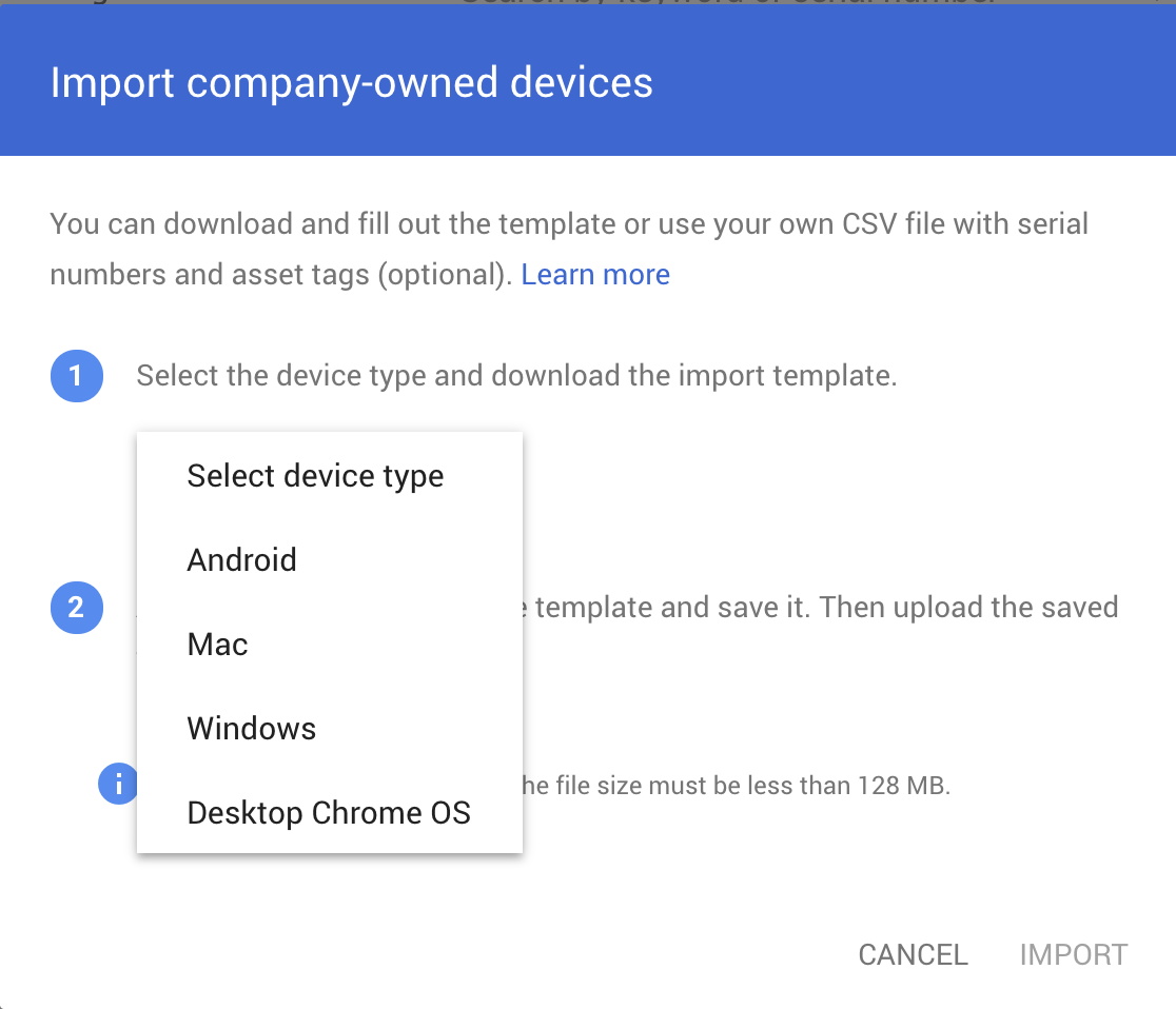 G Suite Updates Blog: View company-owned desktop and mobile devices