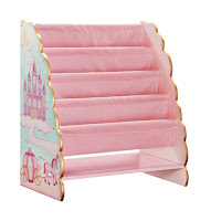 Pink Princess Book Organizer
