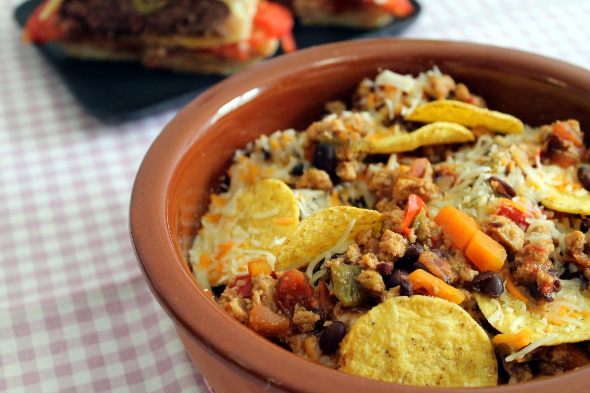 Chili con carne sin carne (chili vegano)