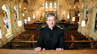 Cupich and empty church