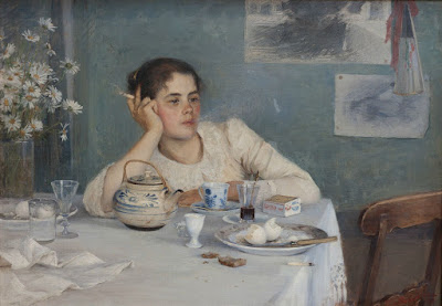 After Brekfast (1890), Elin Danielson-Gambogi