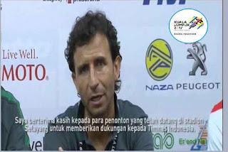 Terima Kasih Luis Milla Untuk Suporter Indonesia