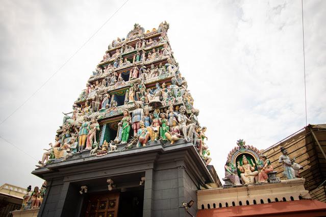 Tempio hindu-Chinatown-Singapore