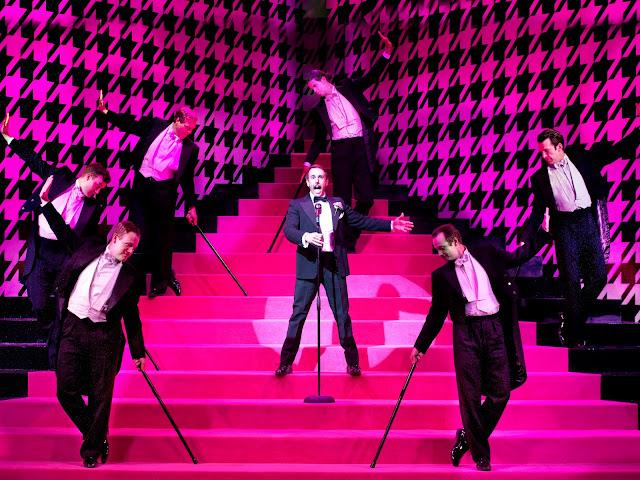 Rossini: La Cenerentola - Nico Darmanin & chorus - The Grange Festival (Photo Simon Anand)