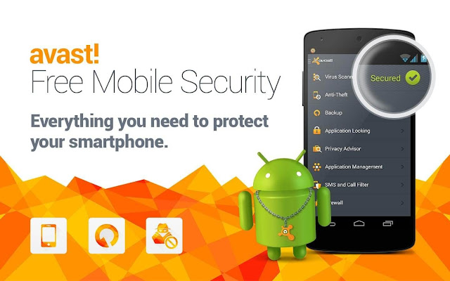 Avast Antivirus ; Avast Mobile Security