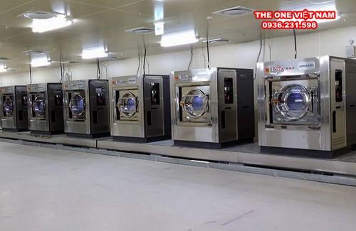 Lựa chọn máy móc cho xưởng giặt