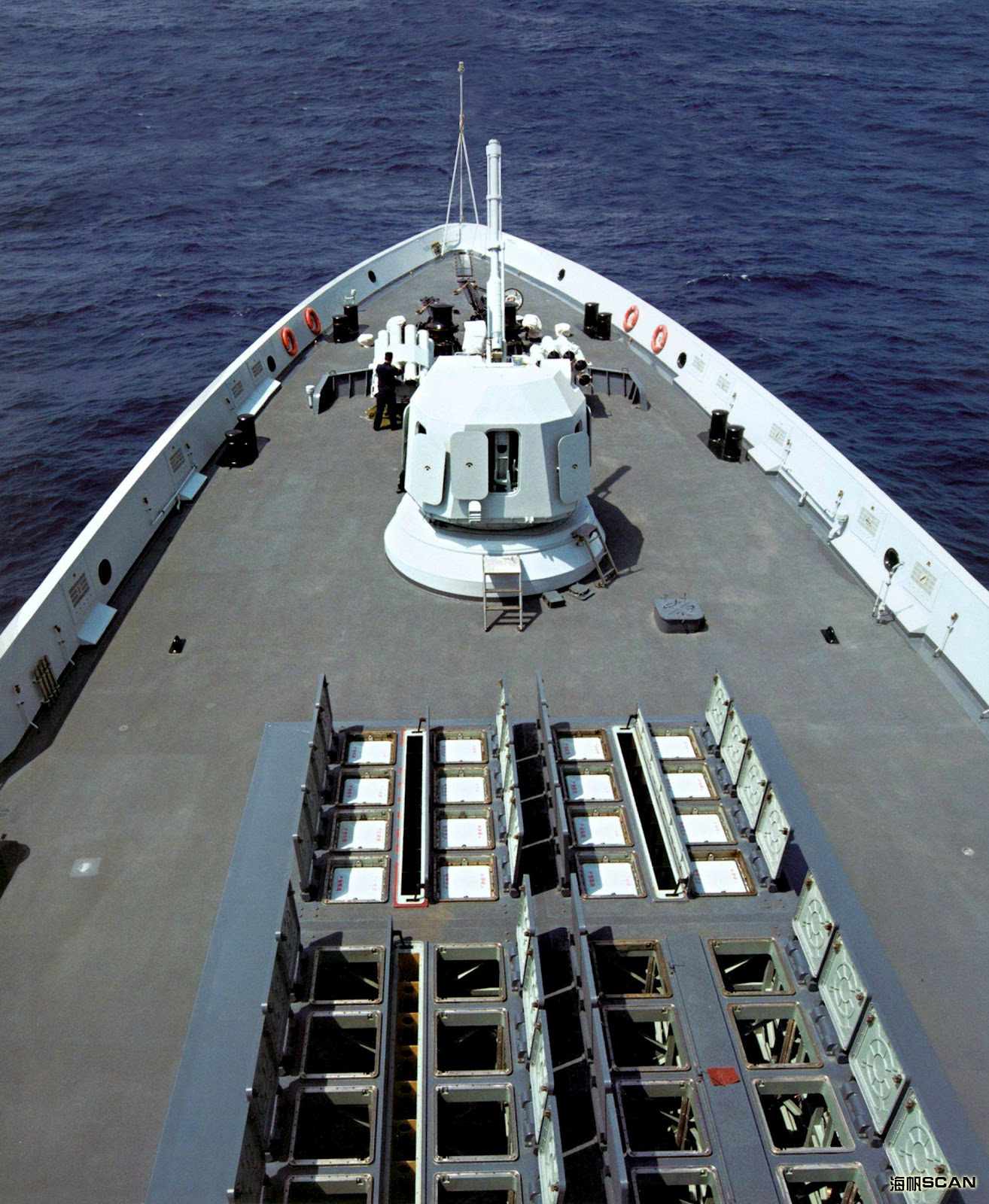 Chinese VLS For HQ-16 Air Defence Missiles of Type 054A Frigate ...