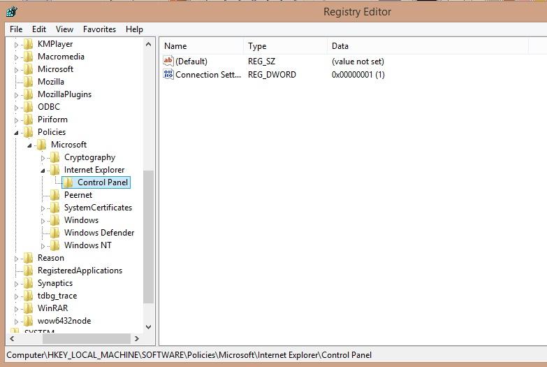Cara mudah mengatasi LAN Setting tidak bisa di klik karena