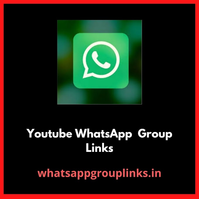 Youtube Whatsapp Group Links