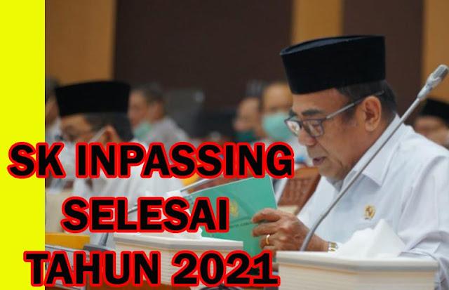 SK Inpassing Guru Kemenag Selesai 2021, Menurut Target Kemenag