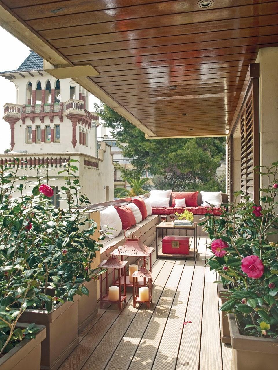 Detalhes do c u varandas pequenas mais com muito estilo for Diseno de casas pequenas exteriores