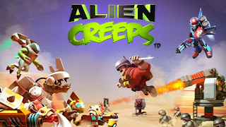 Download  Alien Creeps TD v2.11.0 Mega MOD APK Terbaru (2017)