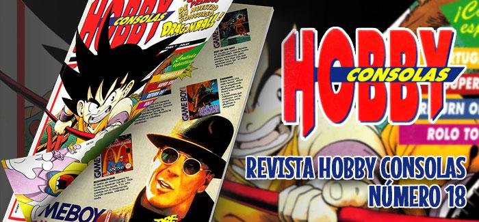 Revista Hobby Consolas Nº 18 (1993)