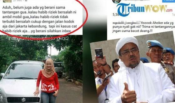 Heboh! Cewek Bikin Sayembara, Relakan Mobil Jika Habib Rizieq Terbukti Bersalah